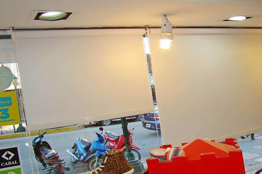 Cortinas Roller Motorizadas para Vidriera en Gonnet La Plata
