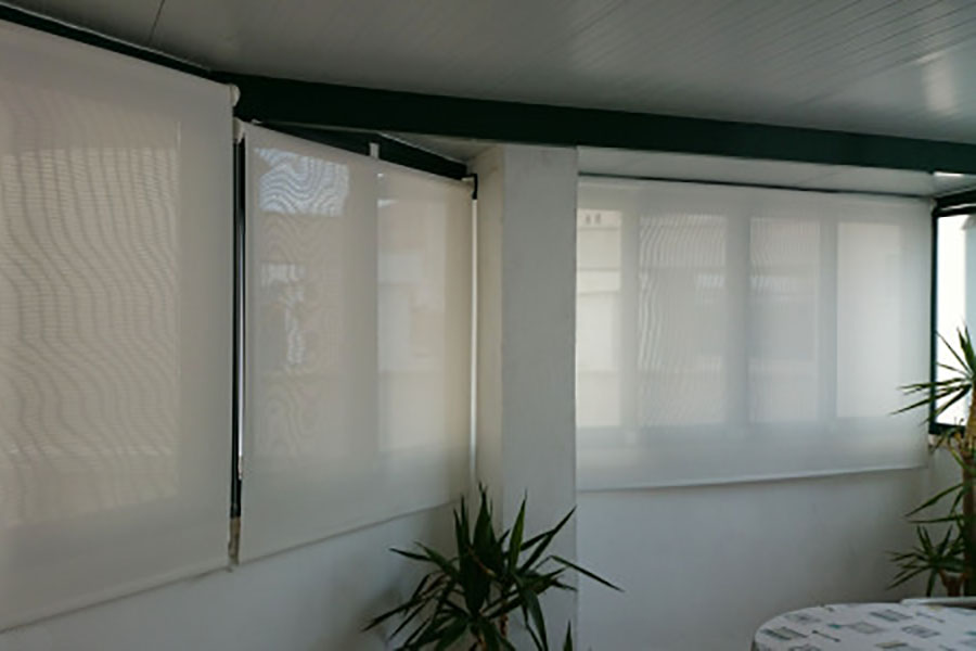 Cortinas Roller SunScreen en Cortinas Roller BlackOut