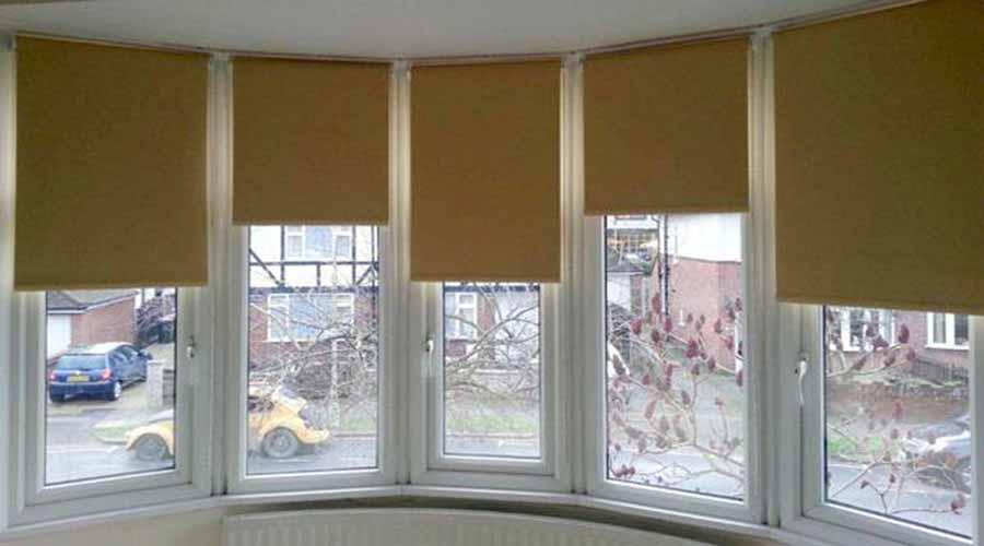 Cortinas Roller y Bow Window en Barracas